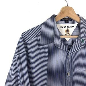 Tommy Hilfiger Vintage Striped Button Down